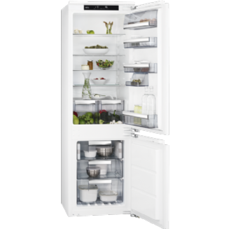 AEG Frost Free Integrated Fridge Freezer 176.9 cm A++ SCE8182XNC